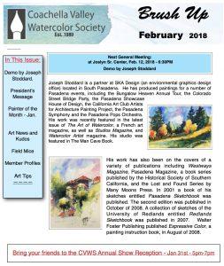 Brush Up Newsletter Image - February 2018
