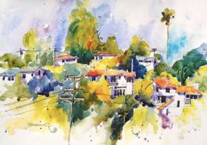 Joseph Stoddard - Hillside Houses