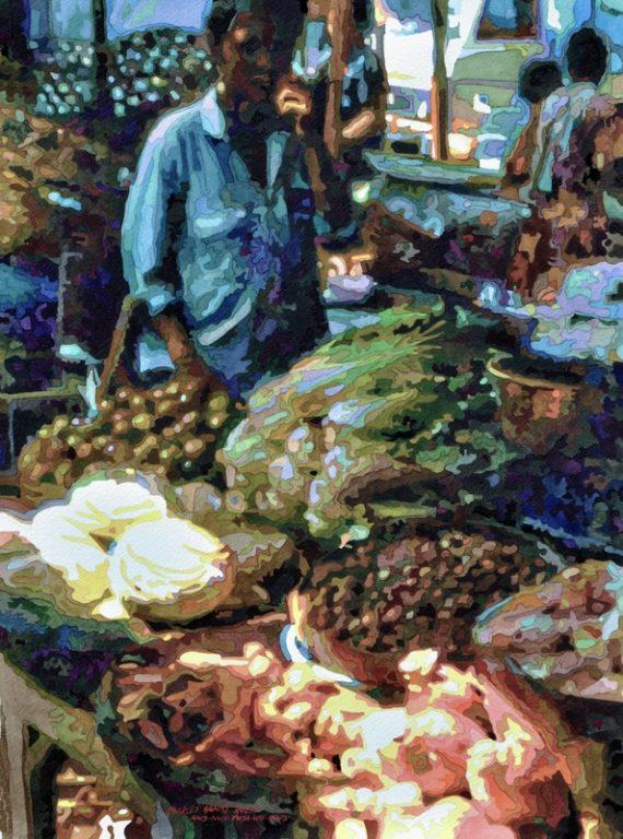 Rouse, Charles Henry - Bali Market