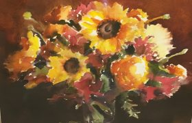 Honorable Mention Diane Morgan Sunshine Bouquet