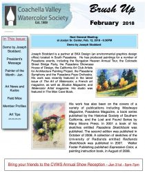 Brush Up Newsletter Image - February 2018