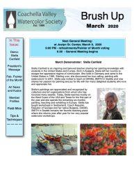 Brush Up Newsletter - March 2020-thumbnail