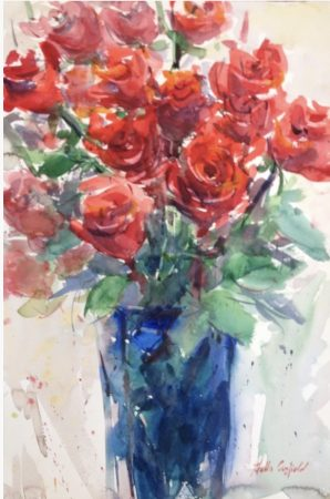Canfield, Stella - Red Roses