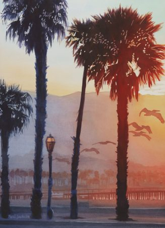 Pelican-Sunrise