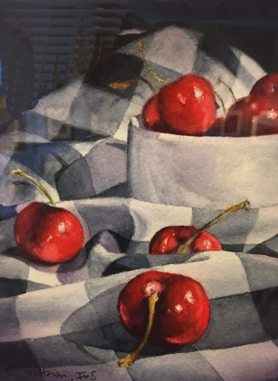 Scott Stoltman, Best of Show, Cherries on Gingham